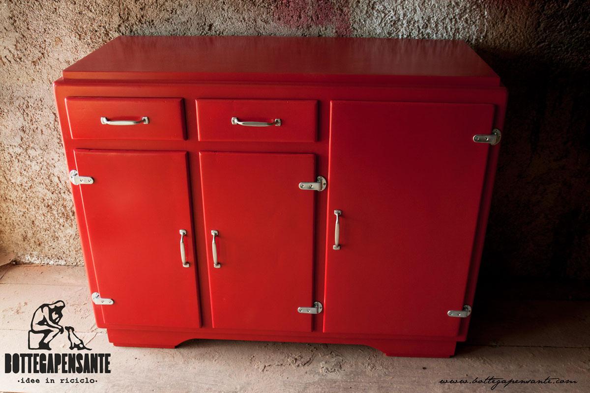 Il rosso bottega pensante for Arredamento rosso