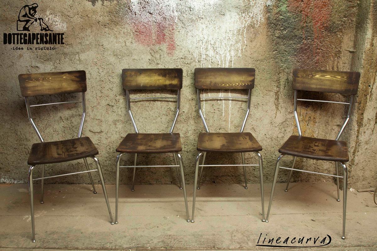 158 lineacurva bottega pensante for Arredamento sedie